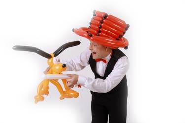 Kindergeburtstag mit Ballonkünstler