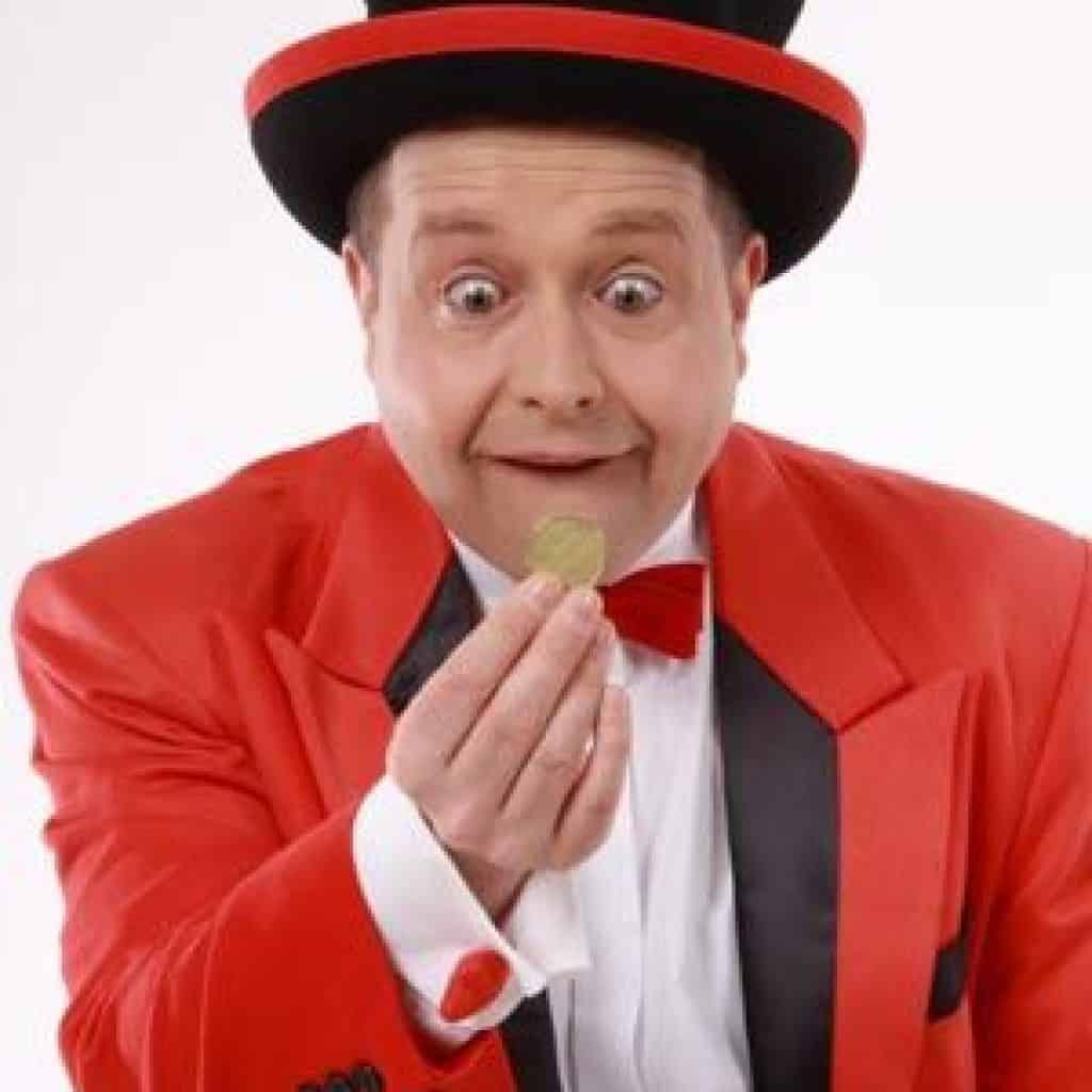 Zauberer für Kinder mit seinem Kinderprogramm