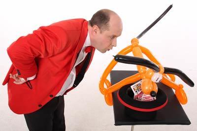 Kinderprogramm Zauberer Unterhaltung Clown
