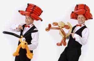 Kinderunterhaltung mit dem Zauberer für Kinder