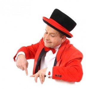 Zauberer aus Stuttgart für Hochzeit oder Geburtstag - Firmenfeier oder Betriebsfeier