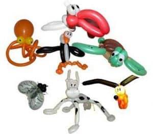Ballonfiguren - Luftballontiere - Sommerfest