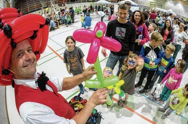 Der Kinderzauberer als Ballonkünstler für Ihr Ferienprogramm