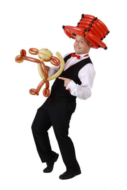 Ballonkünstler und Zauberer für Anlässe aller Art