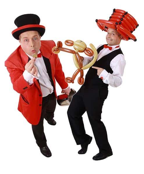 Firmenfeier - Mitarbeiterfest - Tag der offenen Tür - Eröffnung - Zauberer & Ballonkünstler gesucht ?