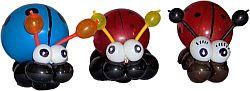 Ballonkünstler - Käferfamilie - Luftballontiere und Ballontiere